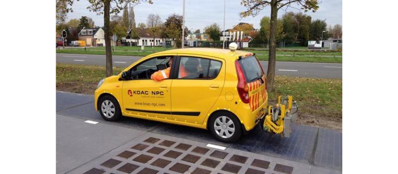Fietsstad Rotterdam? Wolters Engineering maakt samen met KOAC-NPC een fietscomfortmeter!