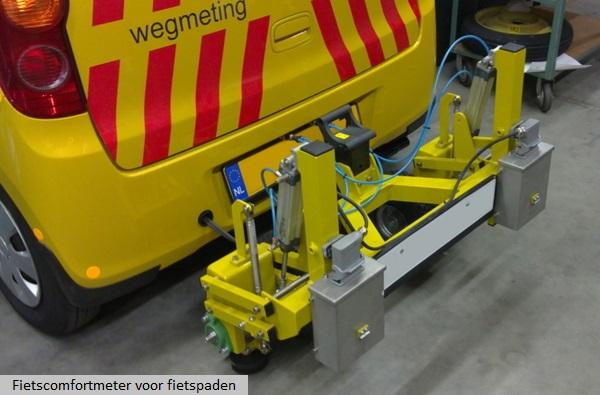 Wolters Engineering Fietscomfortmeter voor fietspaden
